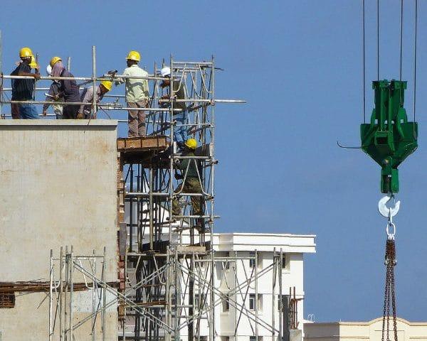Bouwplaats ter illustratie over veilig doorwerken tijdens coronacrisis