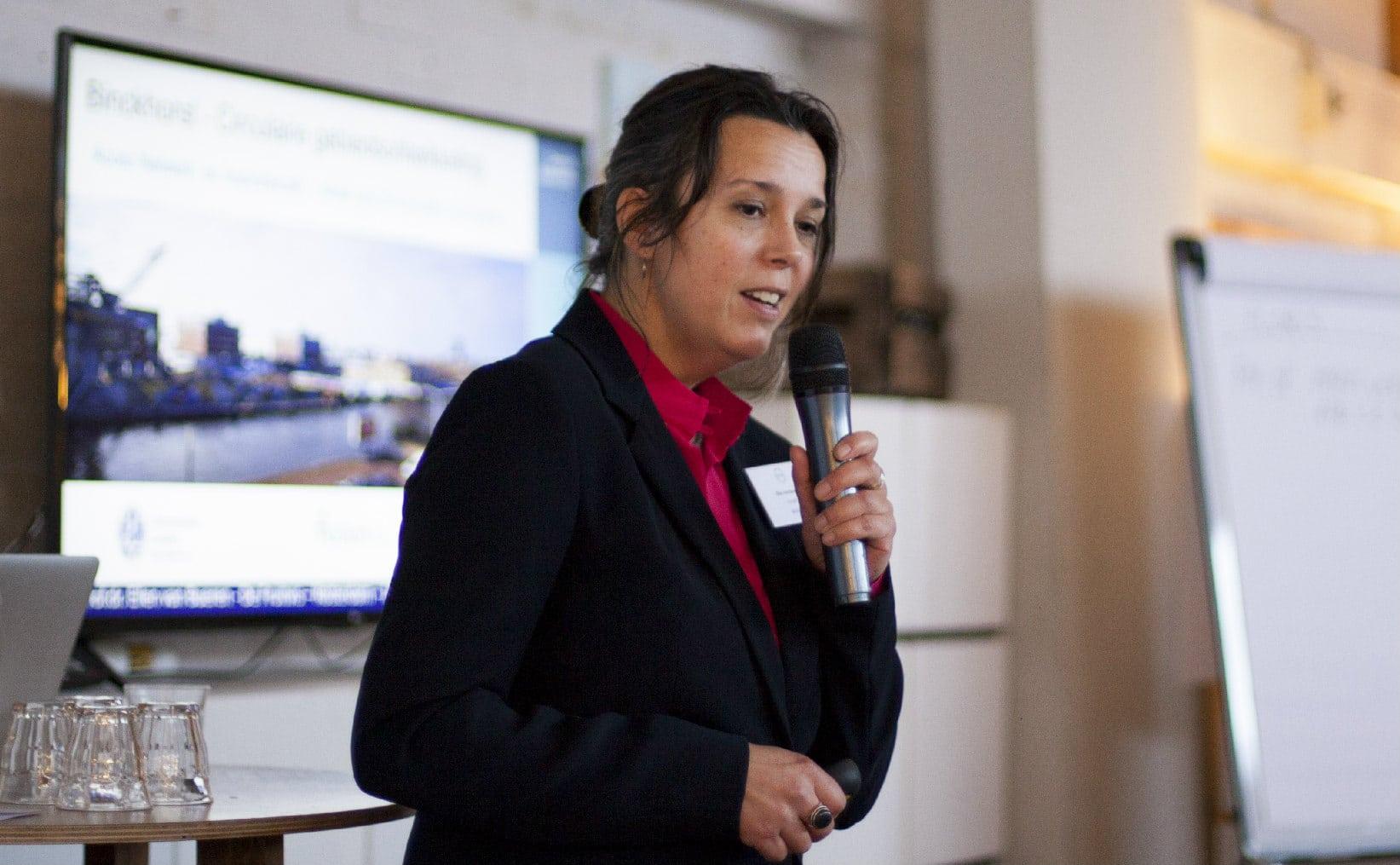 professor Ellen van Bueren over circulaire gebiedsontwikkeling