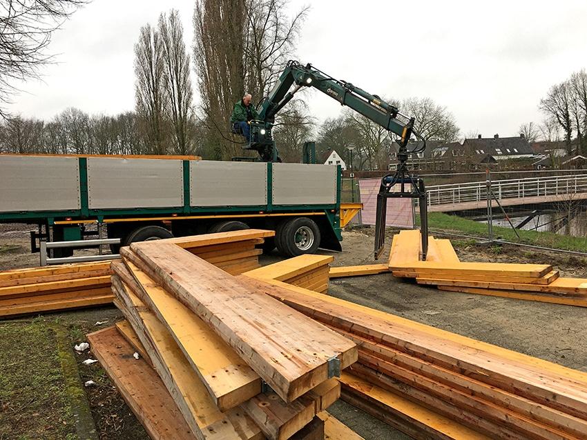Boschgaard zoekt bouwmateriaal