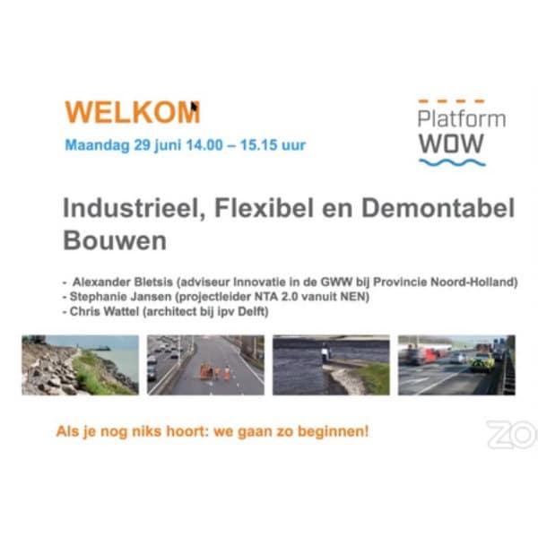 Industrieel, Flexibel en Demontabel (IFD) bouwen van bruggen