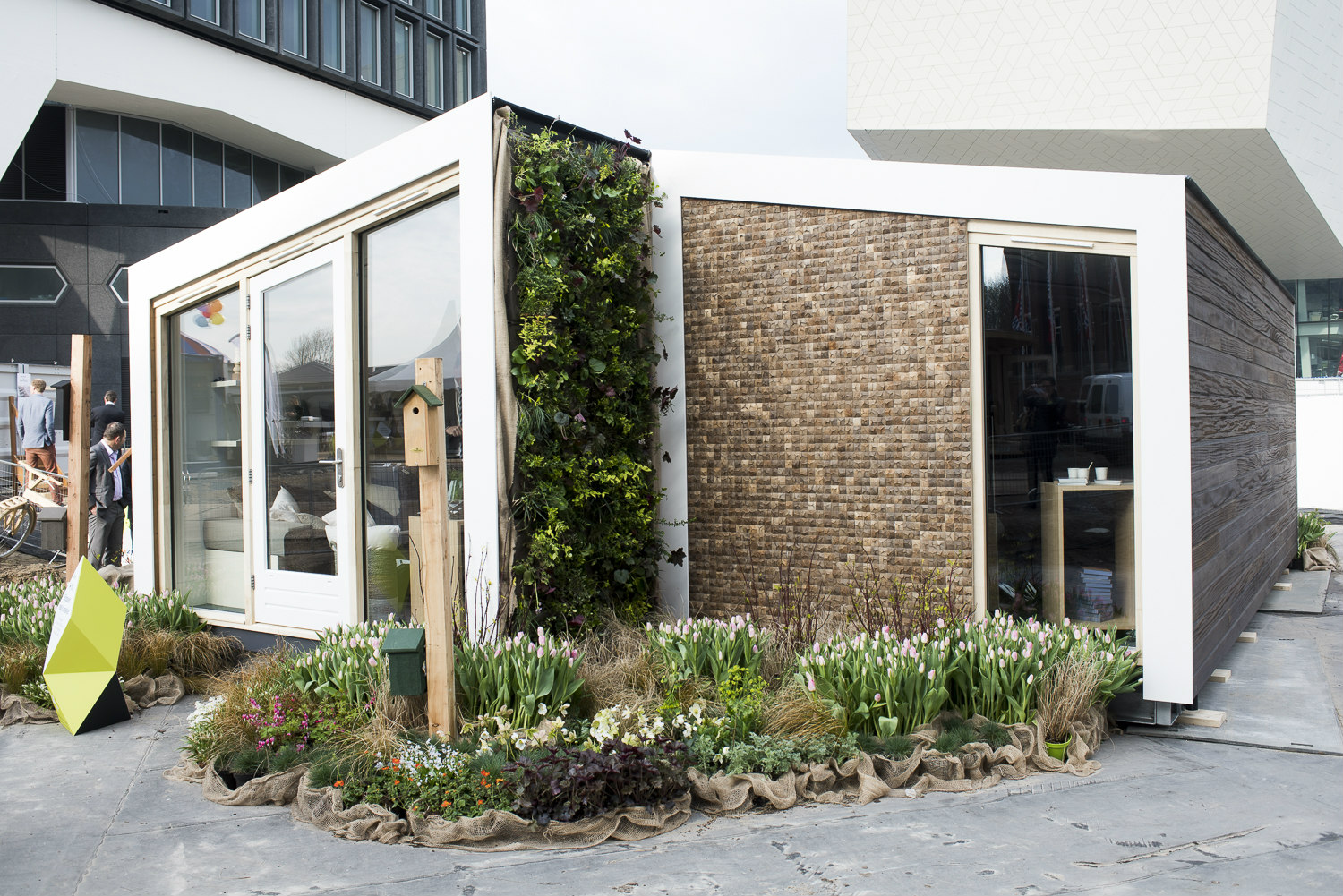 Biobased Huis op Innovation Expo