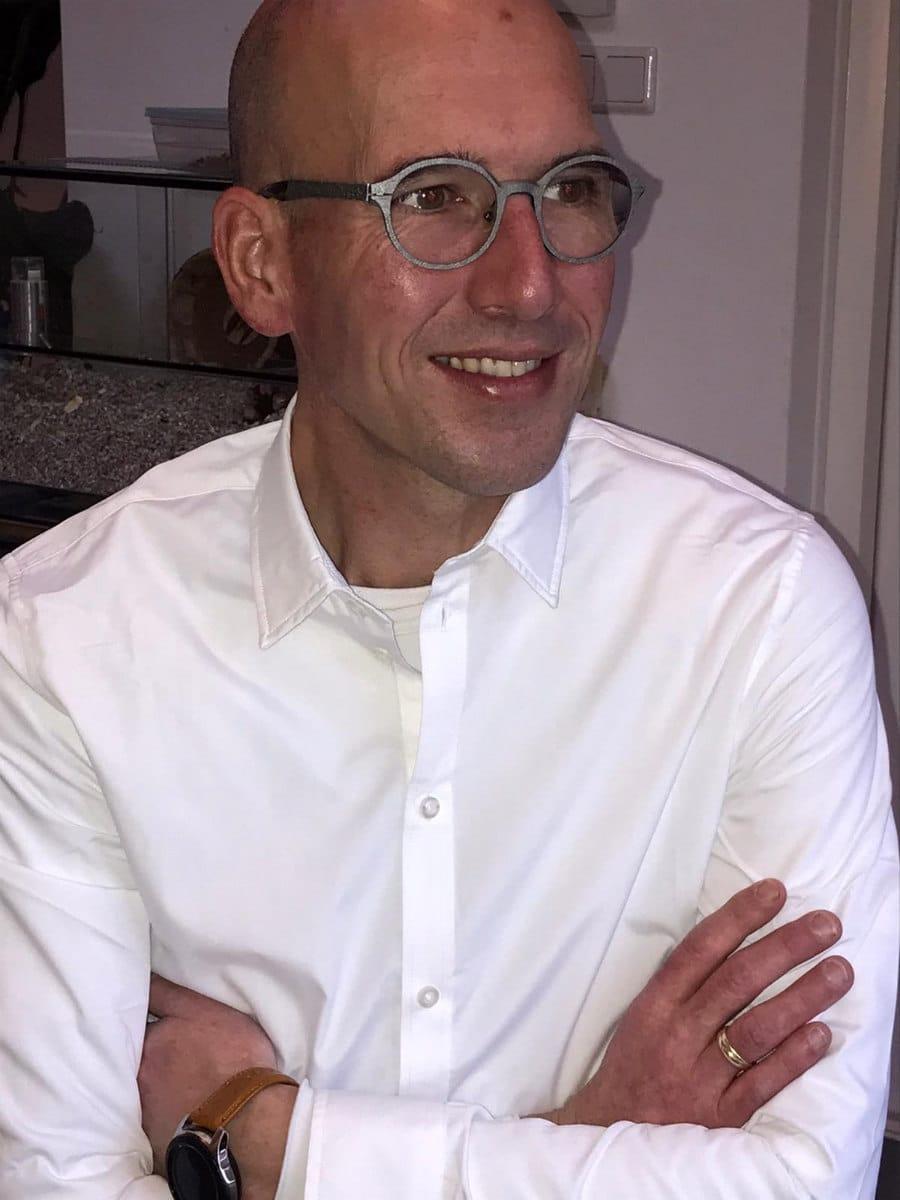Jeroen Lubbers, afdelingsmanager stadsruimte in Almere