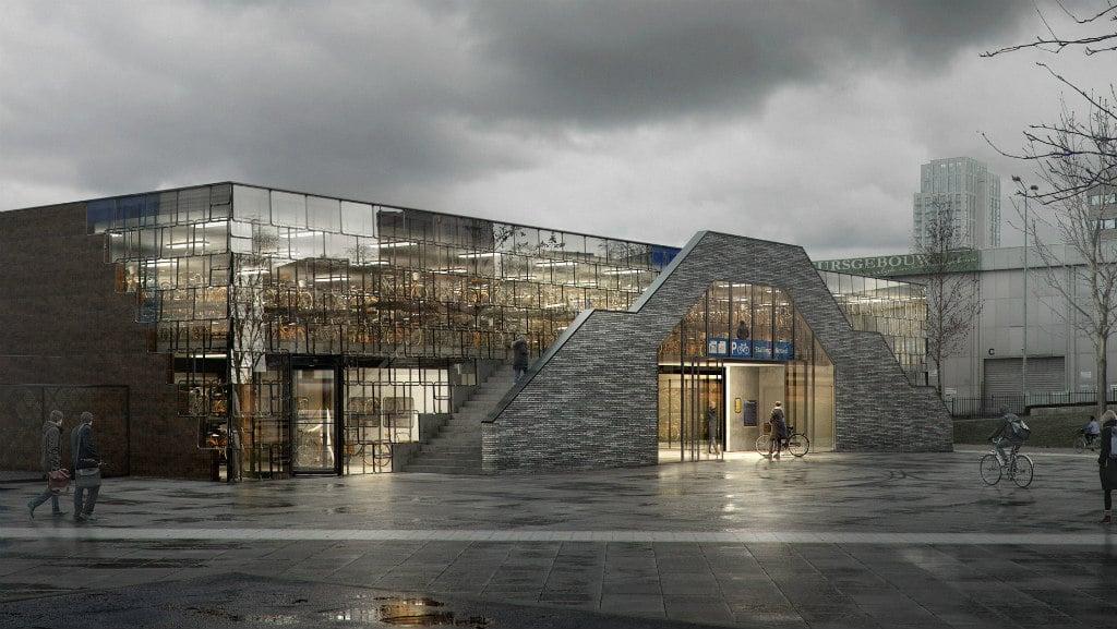 Fietsenstalling station Eindhoven ProRail