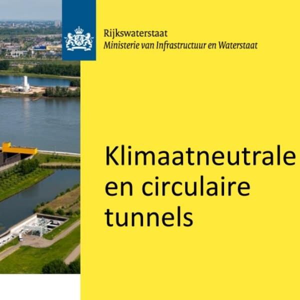 Rijkswaterstaat factsheet Klimaatneutrale en circulaire tunnels